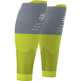 Compressport R2V2 Kuitmouwen, lime/grey